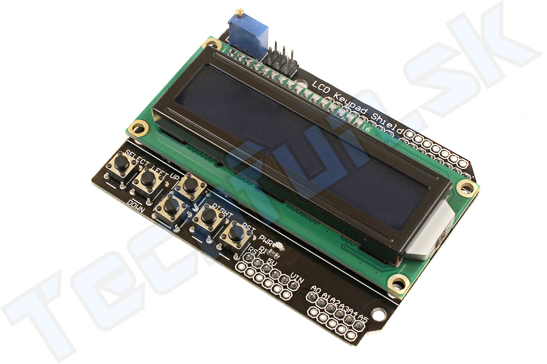Arduino LCD pripojiť